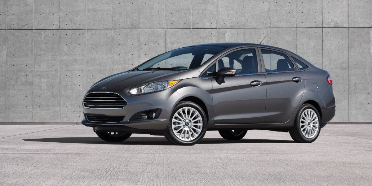 2014 Ford Fiesta 4-door
