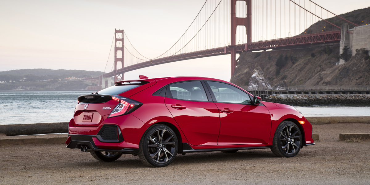 2018 honda civic consumer guide auto for Honda civic hatchback 2013