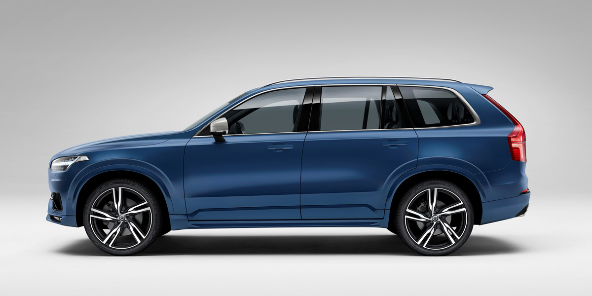 The all new volvo xc90 r design