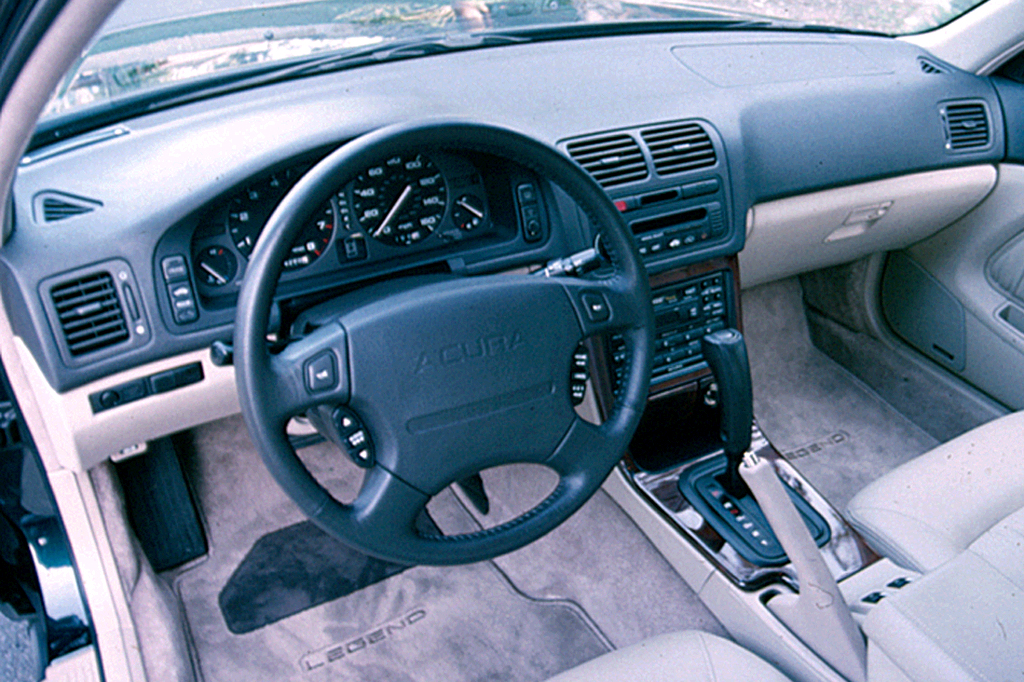on 1993 Acura Integra 4 Door