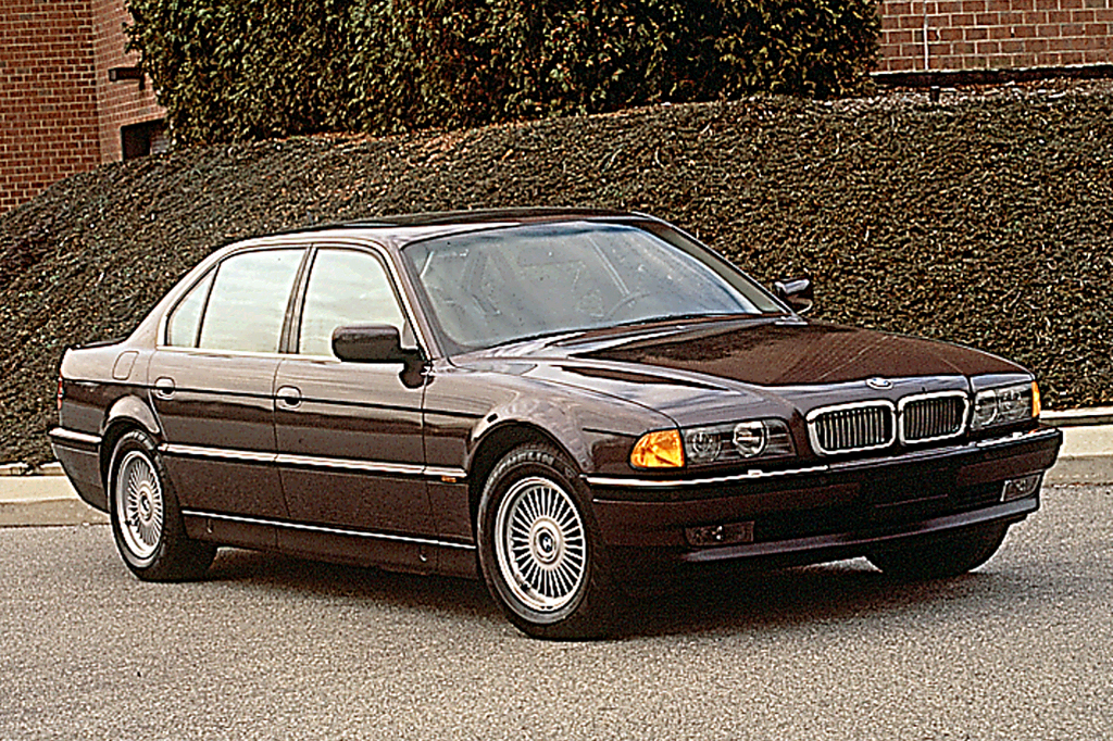 1995 01 bmw 7 series consumer guide auto rh consumerguide com 2000 BMW 740iL Won't Start Used 2000 BMW 740iL