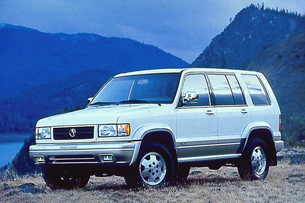 Jeep Grand Cherokee Certified Pre Owned >> 1996-99 Acura SLX | Consumer Guide Auto