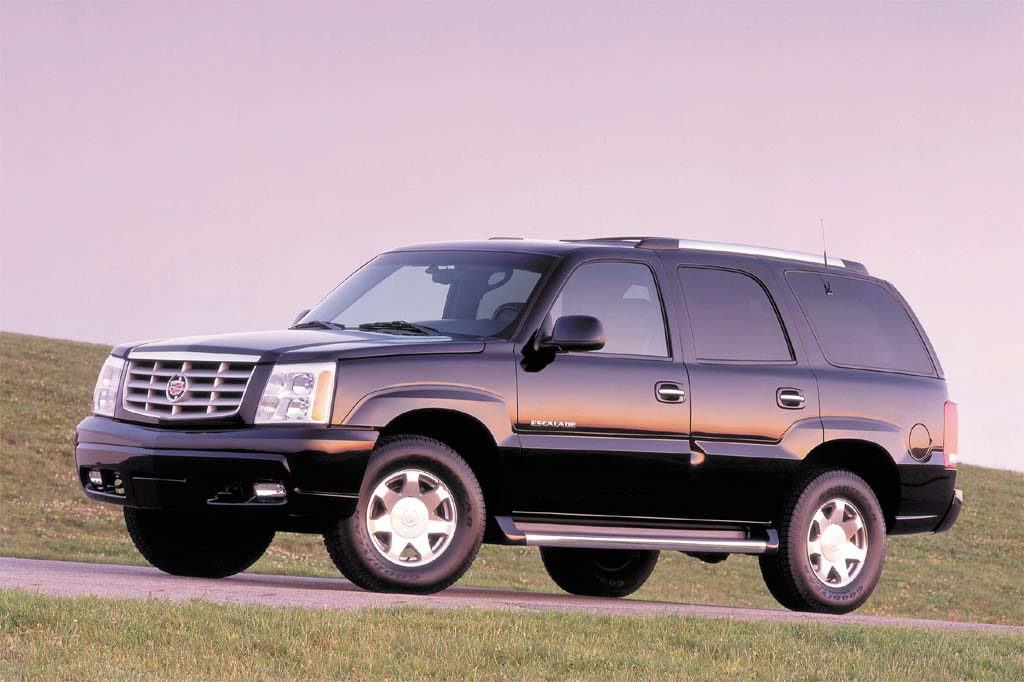 2002 06 cadillac escalade consumer guide auto. Black Bedroom Furniture Sets. Home Design Ideas