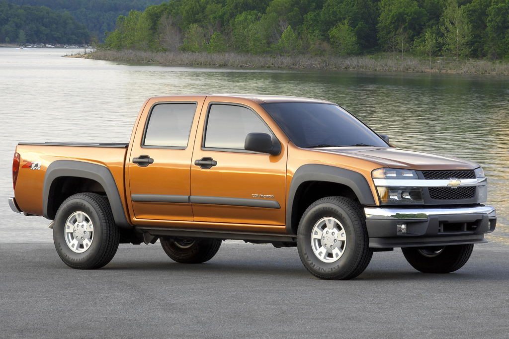 Chevy Colorado 2014 >> 2004-12 Chevrolet Colorado | Consumer Guide Auto