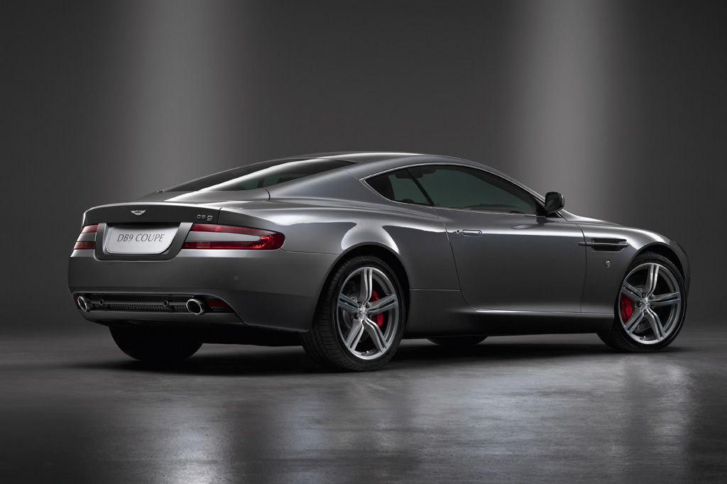2008 Aston Martin DB9 Rear