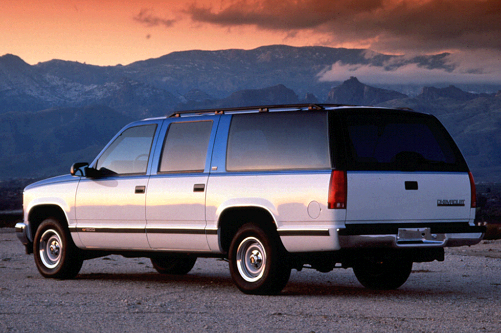 1996 chevy suburban 2500 towing capacity