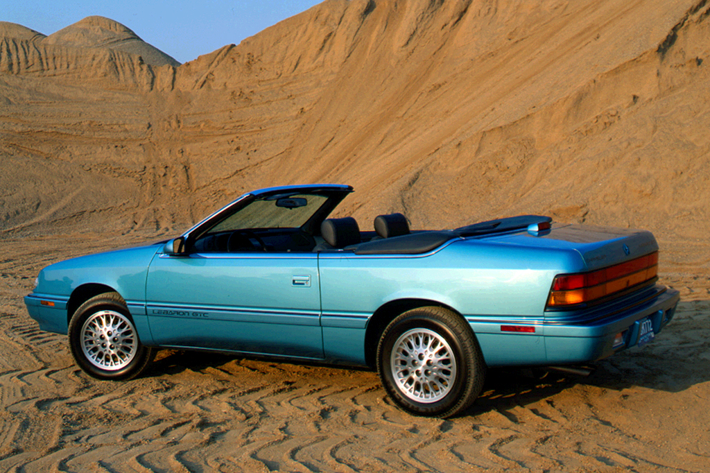 1990 95 chrysler lebaron coupeconvertible consumer guide auto sciox Image collections