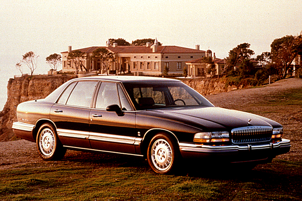1991 96 buick park avenue consumer guide auto. Black Bedroom Furniture Sets. Home Design Ideas