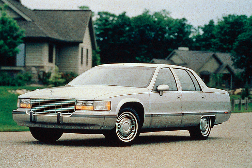 1993 96 cadillac fleetwood consumer guide auto. Cars Review. Best American Auto & Cars Review