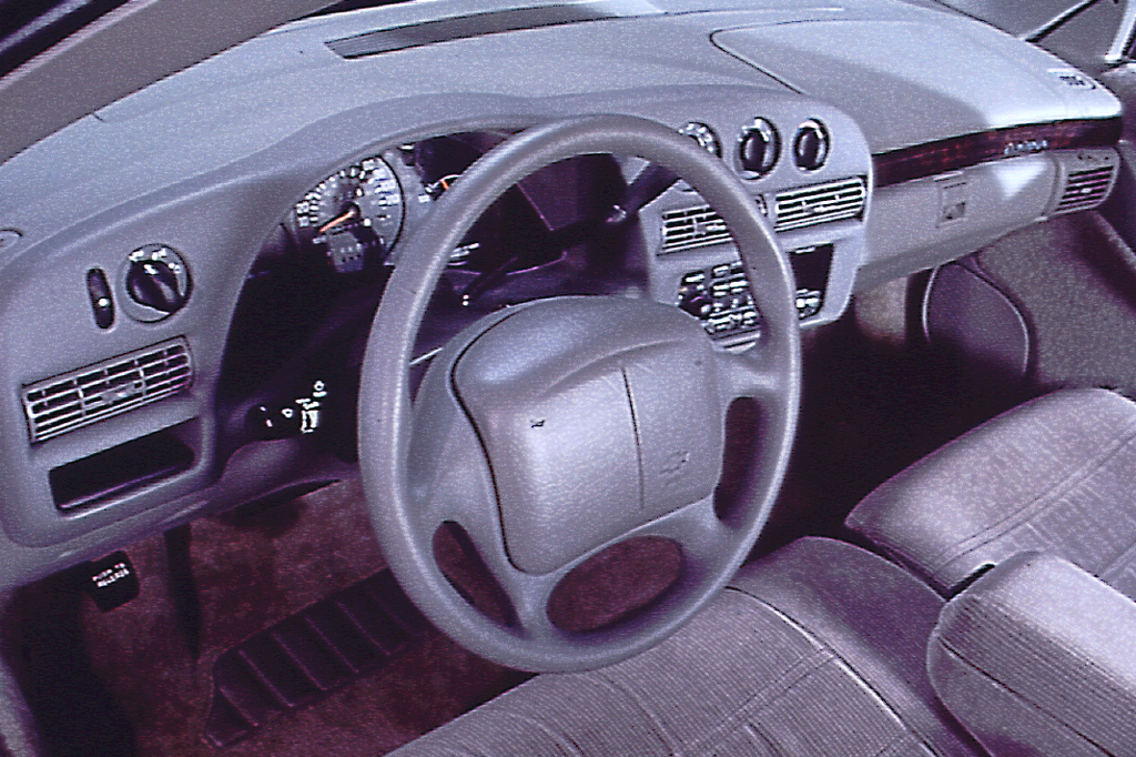 on 1999 Chevy Lumina Interior