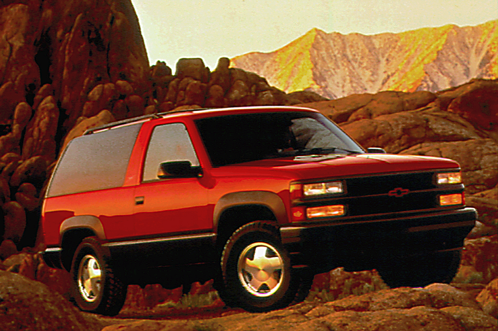 1992 00 chevrolet blazer tahoe consumer guide auto. Black Bedroom Furniture Sets. Home Design Ideas