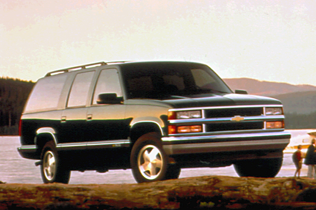 on 1995 Chevy Tahoe