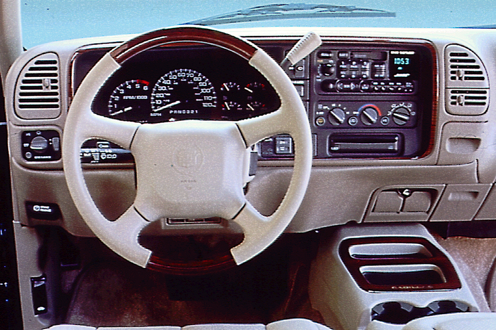 1999-00 Cadillac Escalade | Consumer Guide Auto on ford transmissions, general motors transmissions, mini cooper transmissions, ram truck transmissions, dodge transmissions,