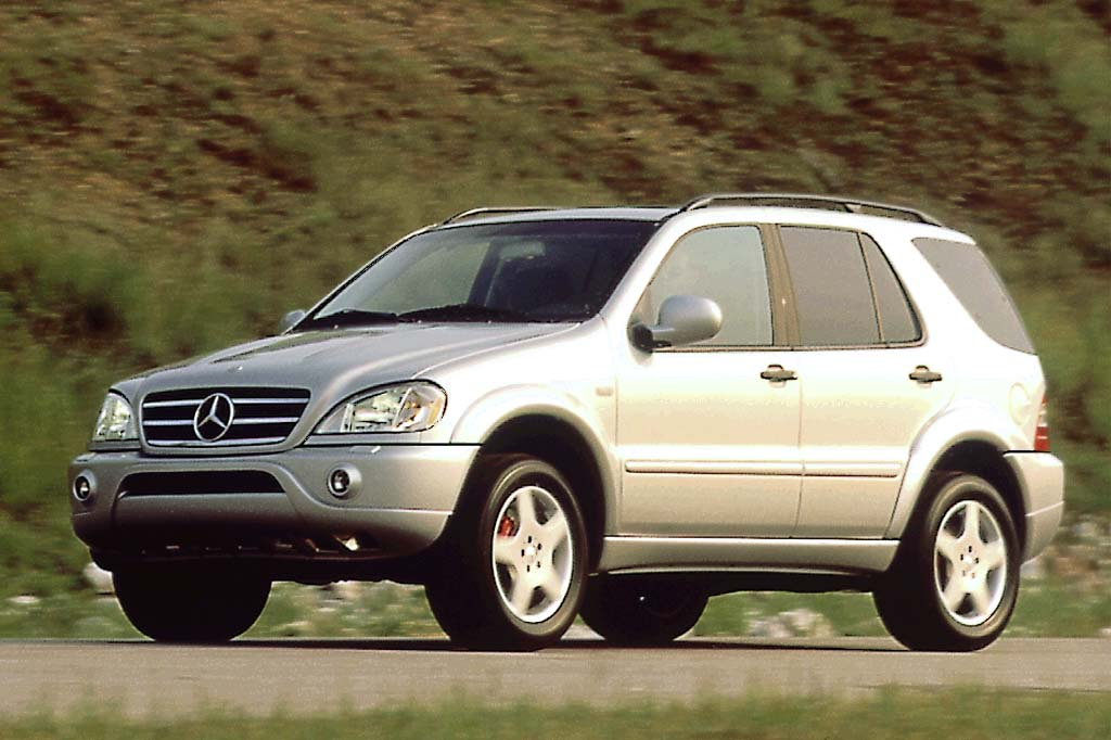 1998 05 mercedes benz m class consumer guide auto for Mercedes benz m class mercedes suv