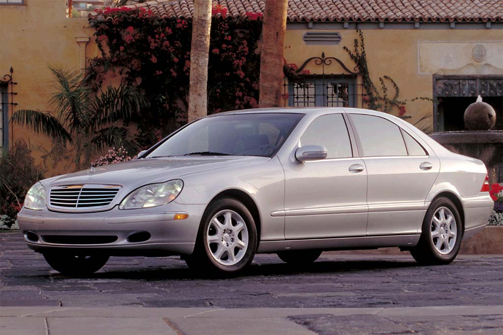 2000 06 mercedes benz s class consumer guide auto for Mercedes benz s class 2001