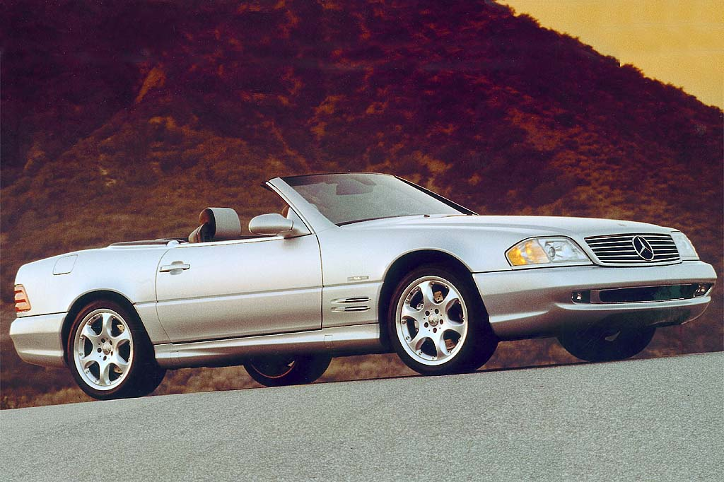 1990 02 mercedes benz sl class consumer guide auto for Used mercedes benz sl