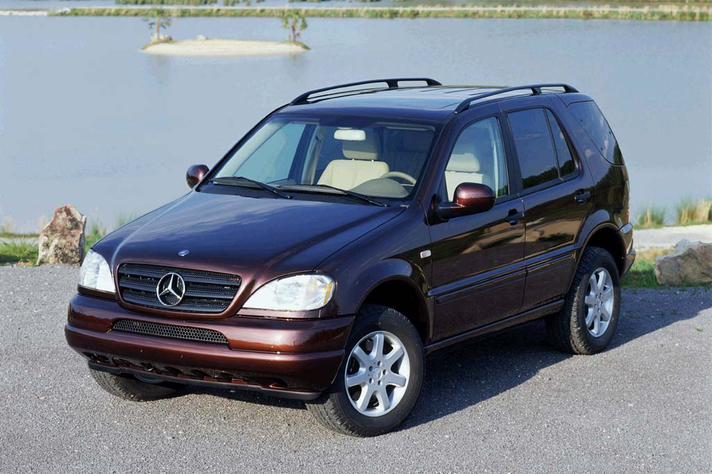 Mercedes Benz New Suv 1999