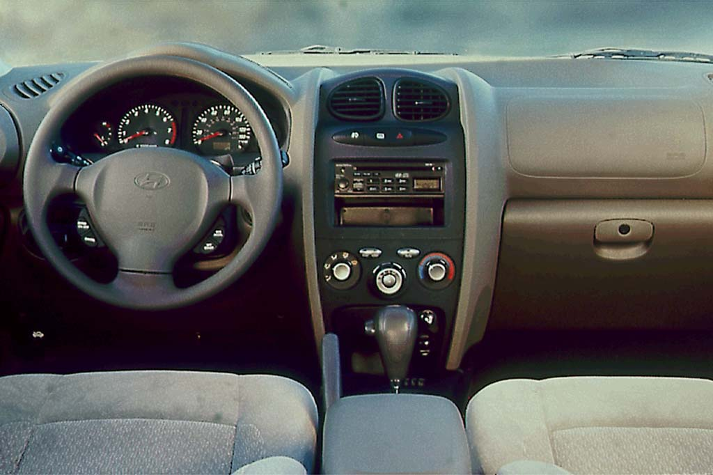 Captivating 2001 Hyundai Santa Fe Interior