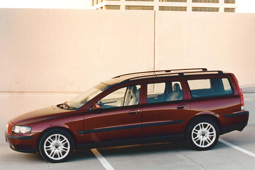 on 2000 Volvo S70 Wagon