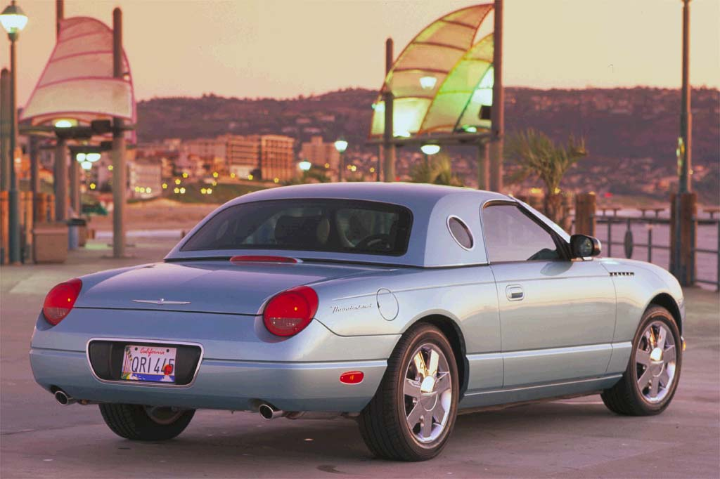 Ford Extended Warranty >> 2002-05 Ford Thunderbird | Consumer Guide Auto