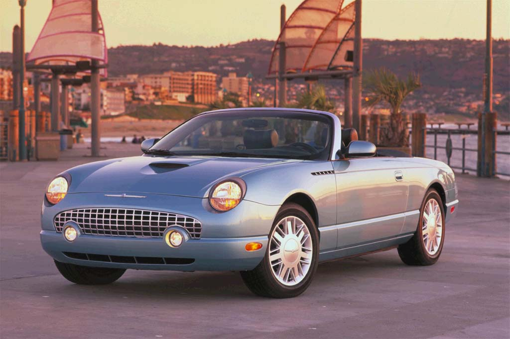 Certified Auto Sales >> 2002-05 Ford Thunderbird | Consumer Guide Auto