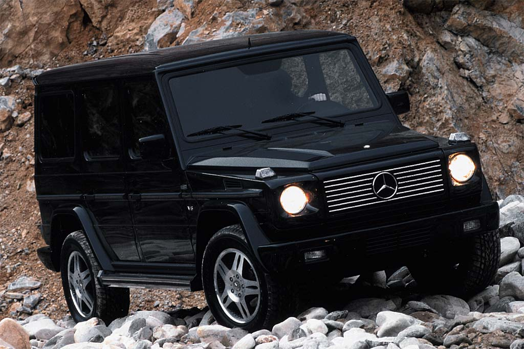 2002 06 mercedes benz g class consumer guide auto. Black Bedroom Furniture Sets. Home Design Ideas