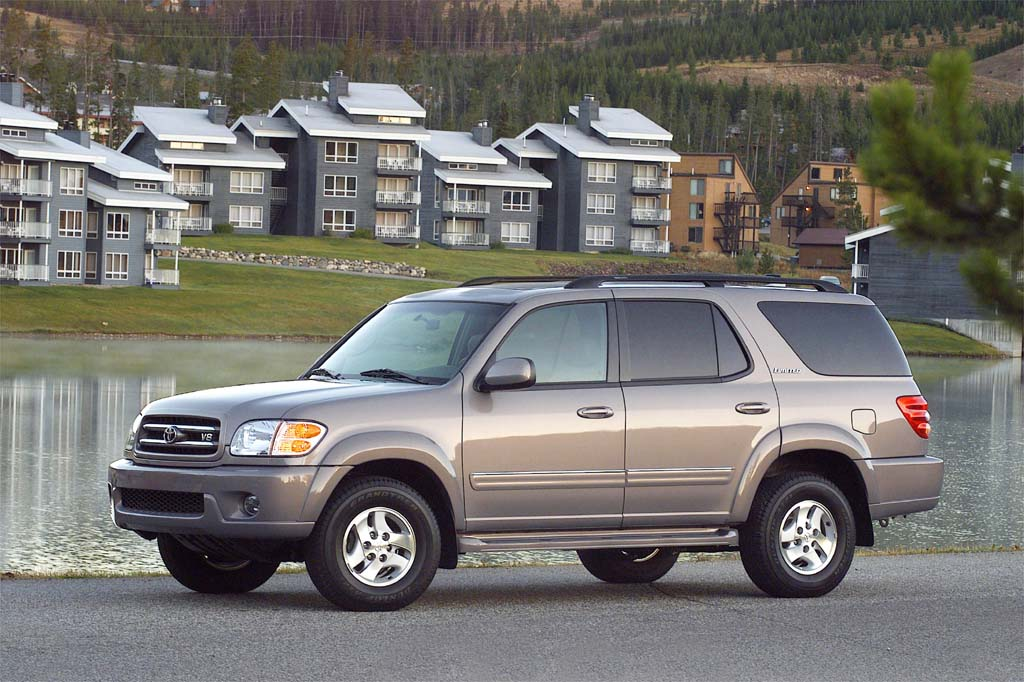 2001 07 toyota sequoia consumer guide auto. Black Bedroom Furniture Sets. Home Design Ideas