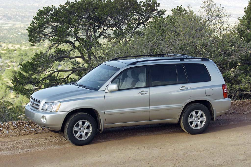 2002 toyota highlander wallpapers.