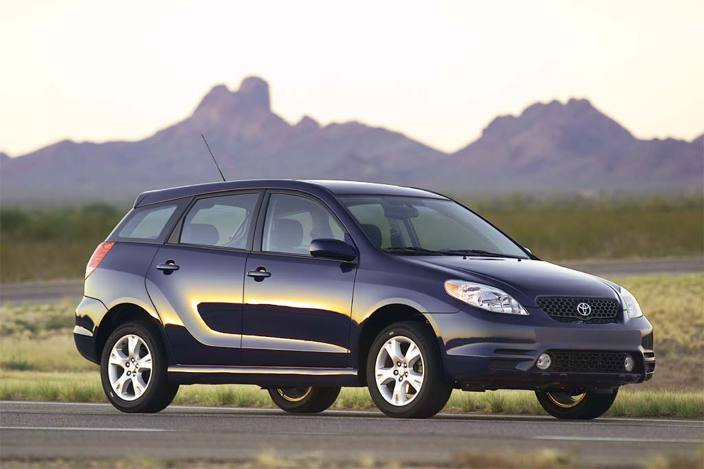2003 08 Toyota Matrix Consumer Guide Auto