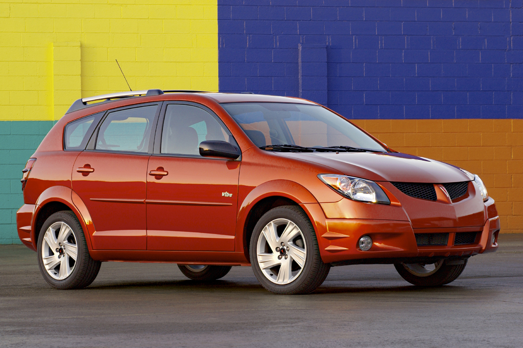 2003 08 pontiac vibe consumer guide auto. Black Bedroom Furniture Sets. Home Design Ideas
