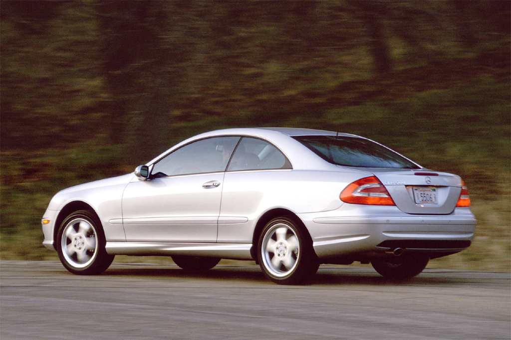 2003 09 mercedes benz clk consumer guide auto for Mercedes benz clk