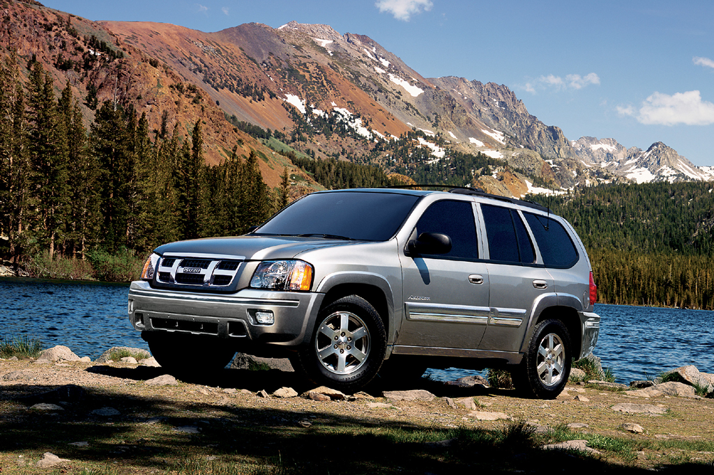 2003 08 isuzu ascender consumer guide auto rh consumerguide com Isuzu Impulse 2007 isuzu ascender owner manual at carid