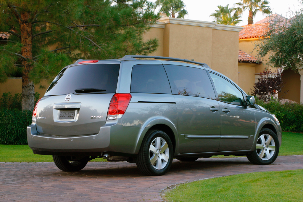 2005 nissan quest review