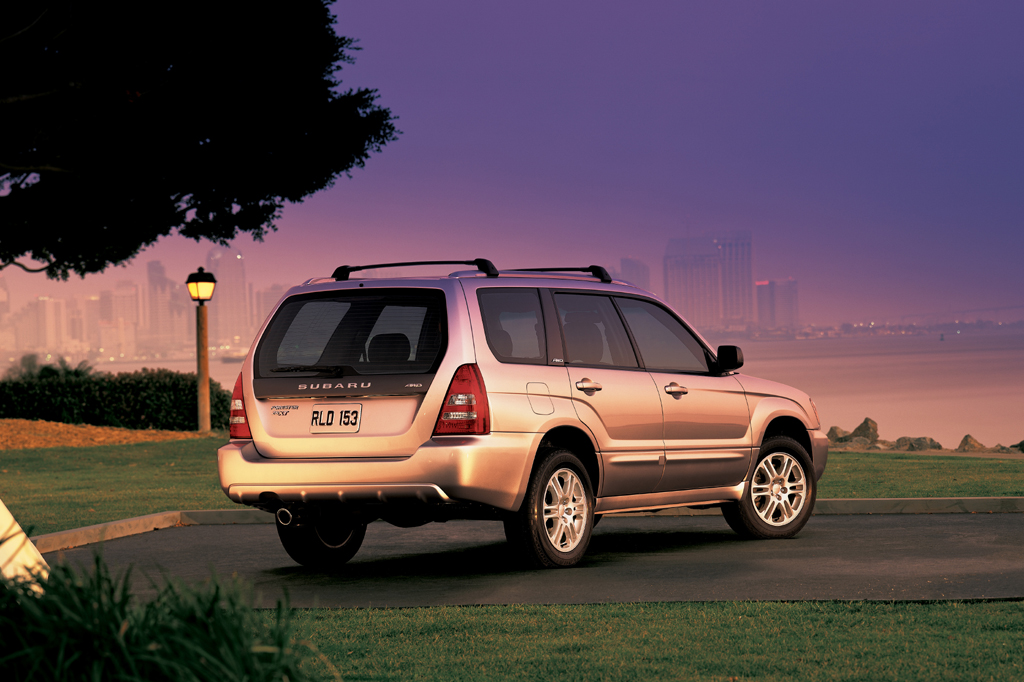 2003 08 subaru forester consumer guide auto. Black Bedroom Furniture Sets. Home Design Ideas