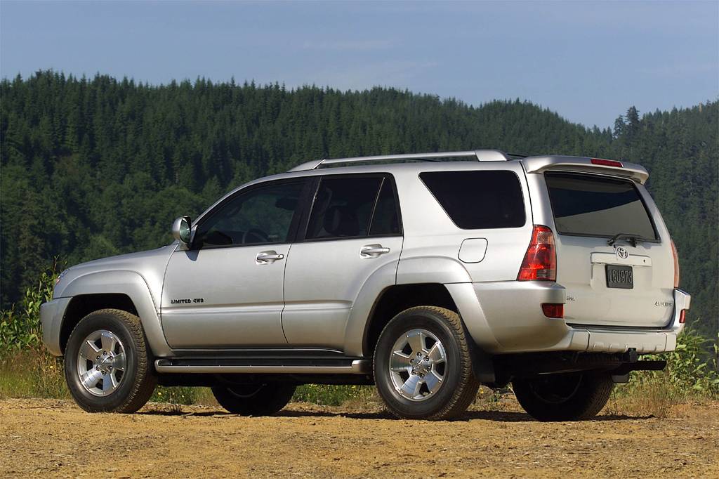 2003 09 toyota 4runner consumer guide auto. Black Bedroom Furniture Sets. Home Design Ideas