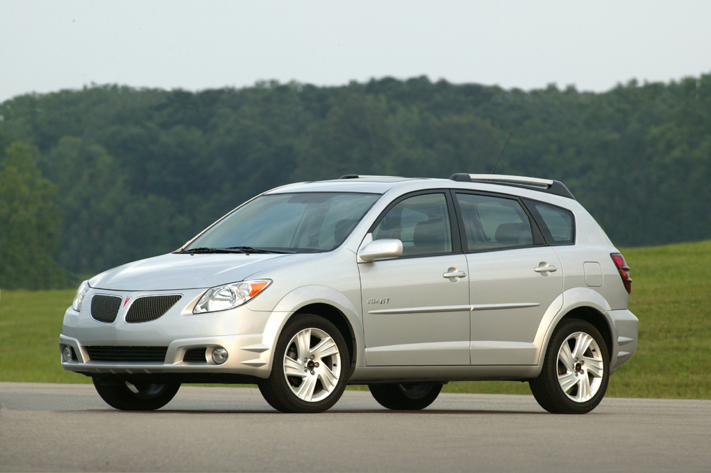 Toyota Certified Pre Owned >> 2003-08 Pontiac Vibe | Consumer Guide Auto