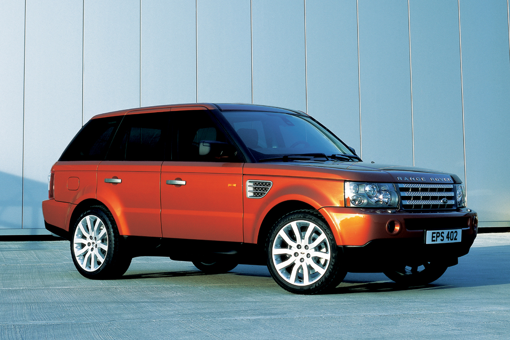 on 2006 Range Rover Sport Engine