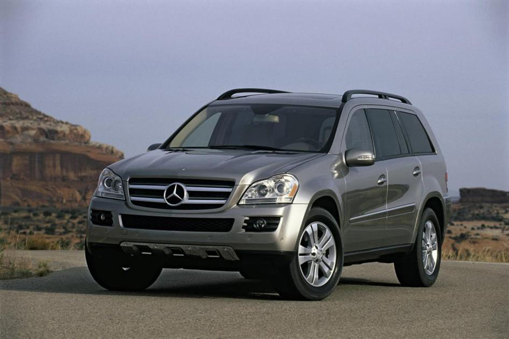 2007 12 mercedes benz gl class consumer guide auto for Mercedes benz 2007 gl450 accessories