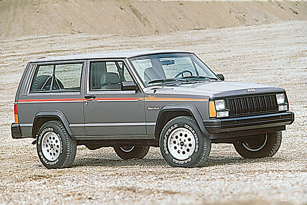 1990 96 jeep cherokee consumer guide auto. Black Bedroom Furniture Sets. Home Design Ideas