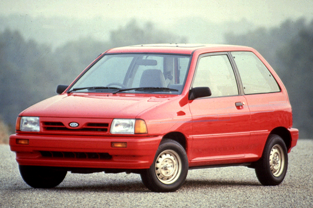 Ford Certified Pre Owned >> 1990-93 Ford Festiva | Consumer Guide Auto