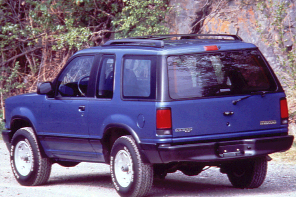 Ford Certified Pre Owned >> 1991-94 Mazda Navajo | Consumer Guide Auto