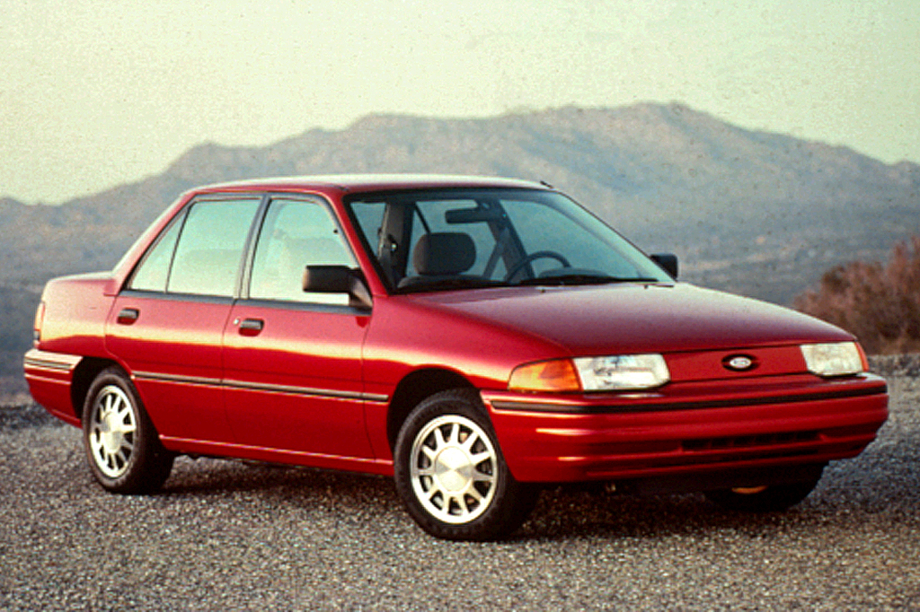 1991 96 Ford Escort on 1994 toyota corolla engine