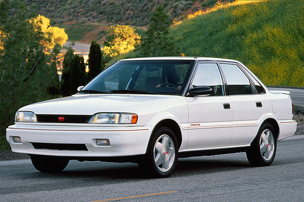 1990 92 Geo Prizm on geo metro engines