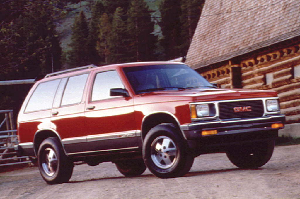 1990 94 Gmc Jimmy Consumer Guide Auto