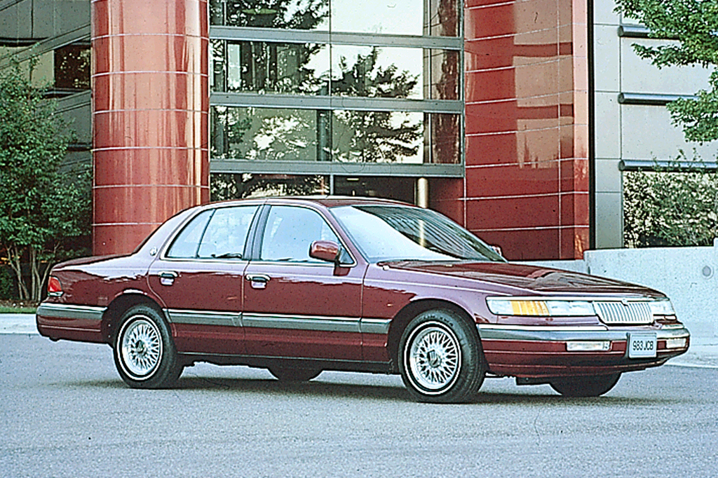 1992 11 Mercury Grand Marquis Consumer Guide Auto