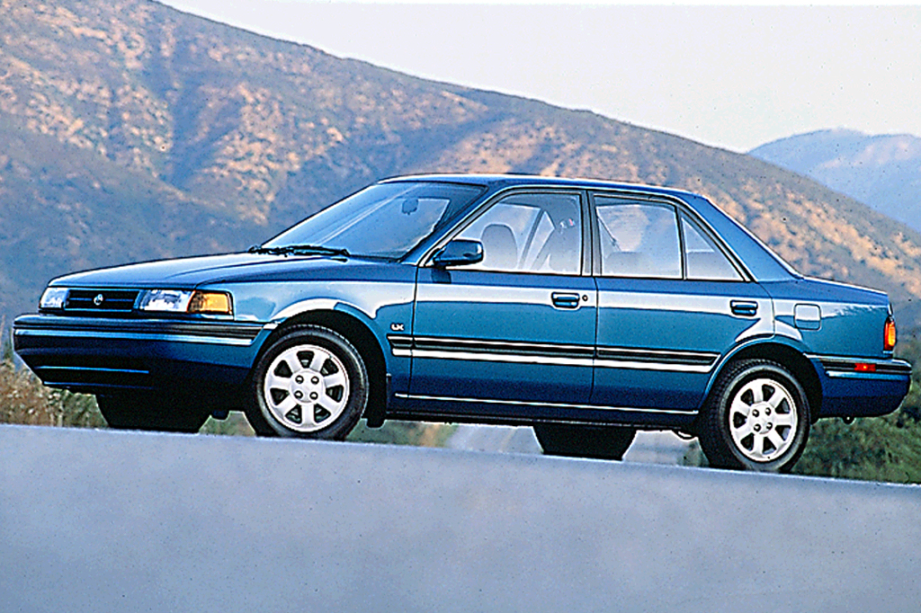 Nissan Extended Warranty >> 1990-94 Mazda Protege | Consumer Guide Auto