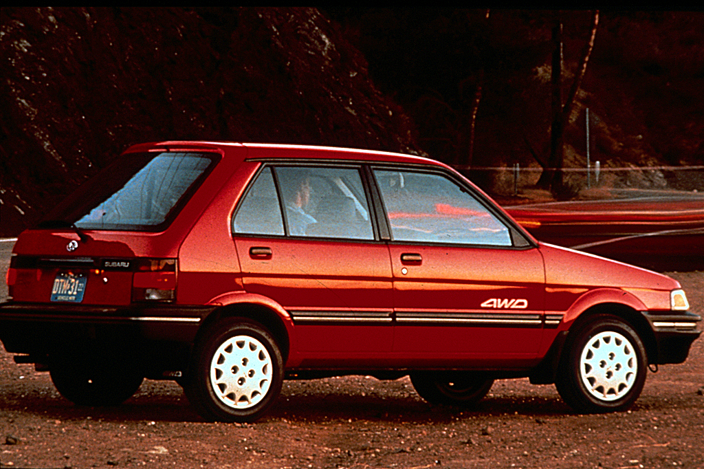 Subaru Certified Pre Owned >> 1990-94 Subaru Justy | Consumer Guide Auto