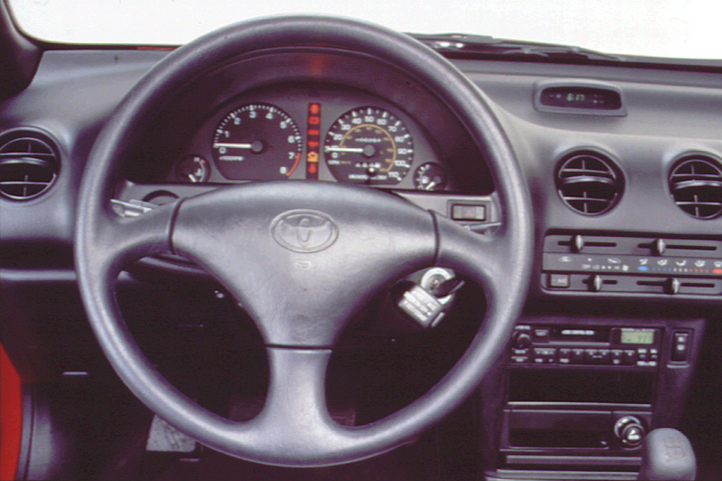 on 1996 toyota celica coupe