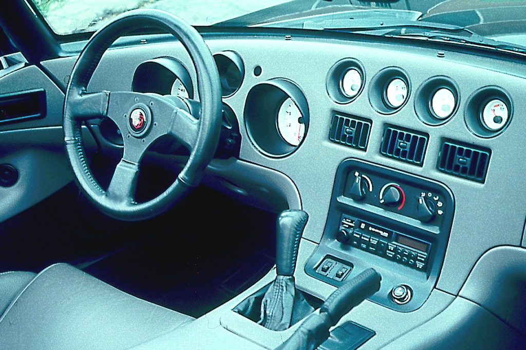 1993 Dodge Viper RT/10 Interior