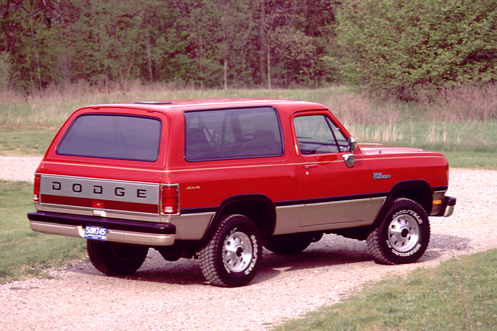 on 1991 Dodge Ramcharger